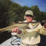 Snook fly fishing