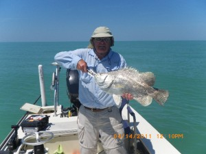 Tripletail charters in Florida